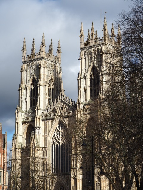 York is an easy day trip away by car or train.