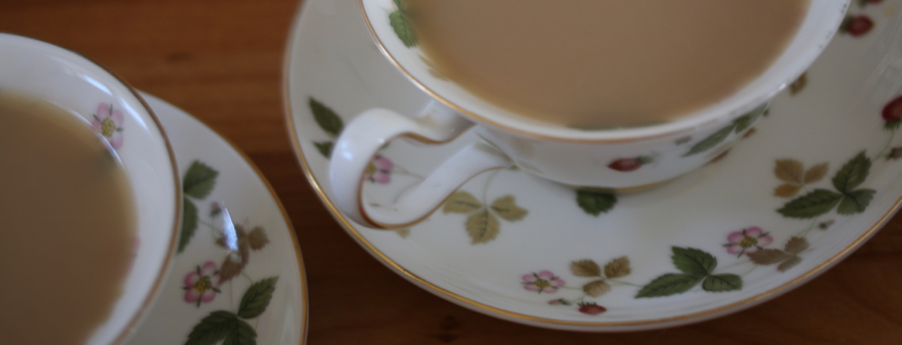 ウエッジウーッドで紅茶を飲もう