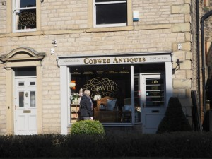 Cobweb Antiques is one of several antique shops, gift shops and galleries in Slaithwaite.